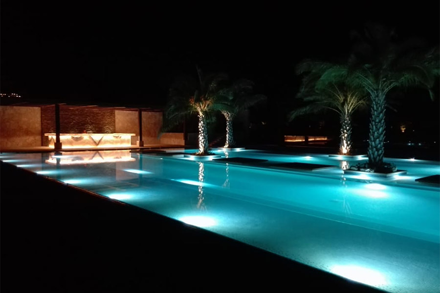 Club Palmilla Pool Night