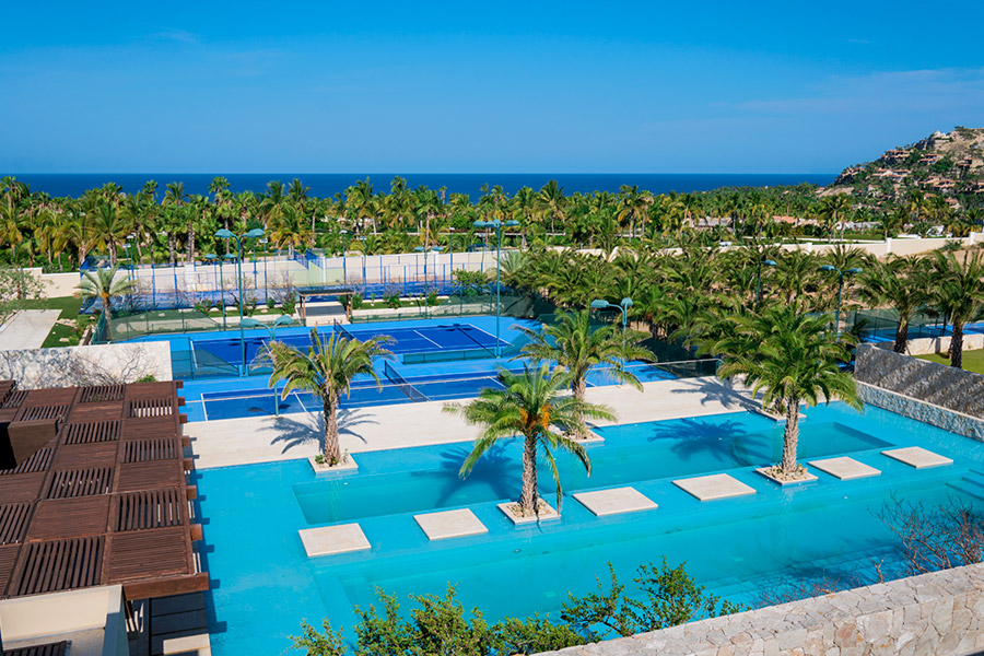 Luxury Real Estate in Cabo: Palmilla Dunes Club Pool Aerial View